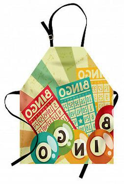 Apron Unisex Kitchen Bib with Adjustable Neck for Cooking Ga