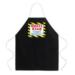 Attitude Aprons Fully Adjustable Stand Back Dad Is Cooking A