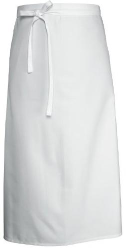 Chef Works B4LG-WHT White Long Four Way Apron