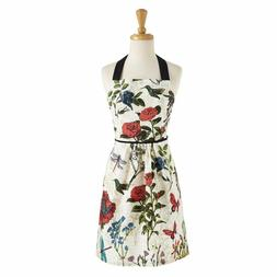 Design Imports BOTANICAL BLOOMS Apron New Spring Easter Wome