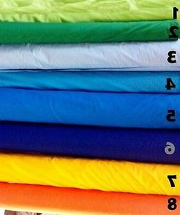 "BROADCLOTH APPAREL FABRIC SOLID COTTON POLYESTER BLEND 60"" 2"