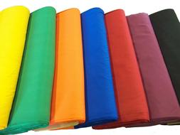 "Broadcloth Fabric 45"" Cotton Polyester Blend - Sold by the Y"