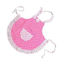 Cute Children Pink Apron Kitchen Cooking Baking Dining Paint