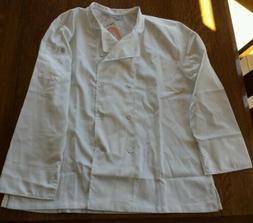 CHEF WORKS CWLJ-WHT WOMEN'S EXECUTIVE CHEF COAT, WHITE, SIZE