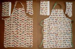 Ulster Weavers Dachshund / Sausage Dog Apron, Oven Mitt and