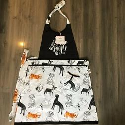 DOGS  🐶 KITCHEN APRON  **DOG  🐶MOM ***. Super Cute  By