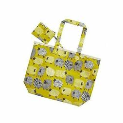 Ulster Weavers Dotty Sheep Oil Cloth Shopper Bag and Purse