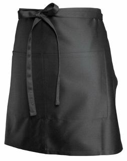 Chef Works F28 Half Bistro Apron, 19-Inch Length by 27.5-Inc