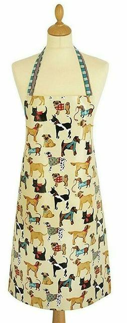 Ulster Weavers Fall Hound Dog Print Apron Coats and Scarves