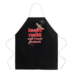 Attitude Aprons Fully Adjustable Real Men Don't Use Recipes