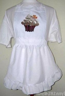 GIRLS KIDS CUPCAKE PINI APRON Made fit up to 12 years Can na