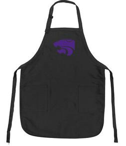 Official Kansas State Aprons Deluxe K-State Apron w/ Pockets