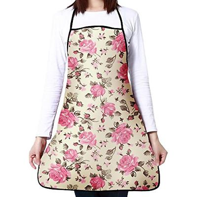 Feddiy Aprons For Women Girls Custom Cooking Waist Chef BBQ