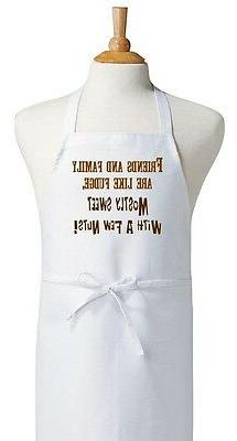CoolAprons Baking Aprons Friends and Family Are Like Fudge,