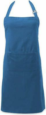 DII Cotton Adjustable Kitchen Chef Apron with Pocket and Ext
