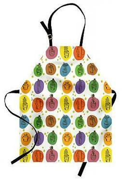 Modern Apron Unisex Kitchen Bib with Adjustable Neck for Coo