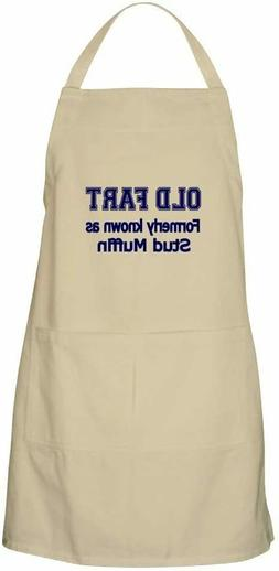 CafePress Old Fart Formerly Know As Stud Muffin Kitchen Fath