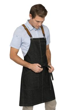 CHEF WORKS~URBAN APRON~BERKELEY APRON with SUSPENDERS~NIP~ I