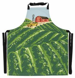 Weed Farm To Table Apron Chef Cook Kitchen Linen Accessories