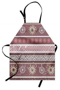Zambia Apron Unisex Kitchen Bib with Adjustable Neck Cooking